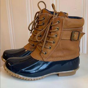 G.H. Bass Harlequin Duck Boots